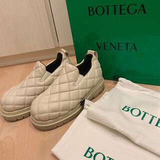 Bottega Veneta - NEW BOTTEGA VENETA キルティングレザースリッポン