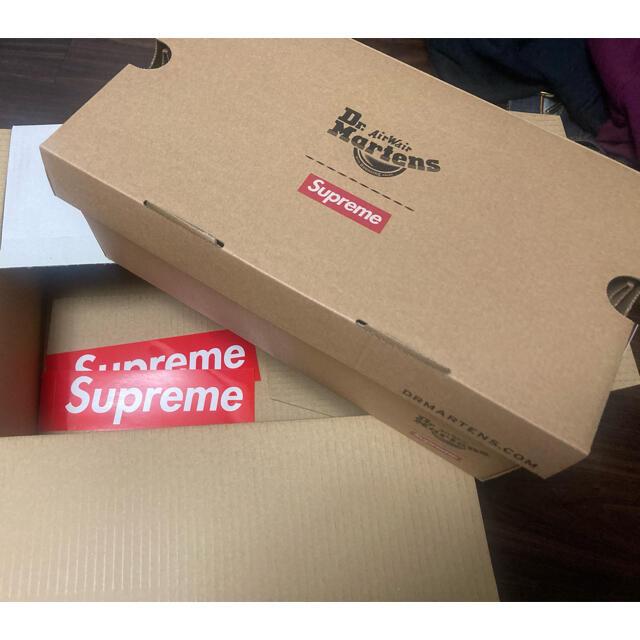 Supreme(シュプリーム)のSUPREME × DR. MARTENS Zebra US7 メンズの靴/シューズ(ブーツ)の商品写真