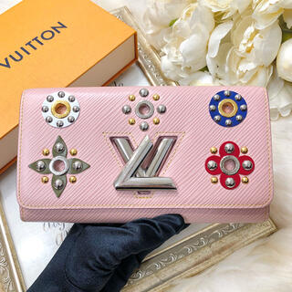 LOUIS VUITTON - LOUIS VUITTON ルイヴィトン 長財布 エピ ツイスト ピンク