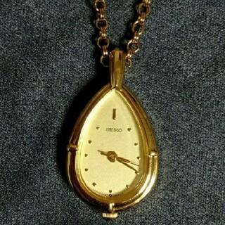 セイコー(SEIKO)のSEIKO セイコー ペンダント 時計 1F21-5A10(ネックレス)