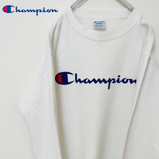 Champion - チャンピオン⭐︎スウェット トレーナー ビッグロゴ プリント 刺繍