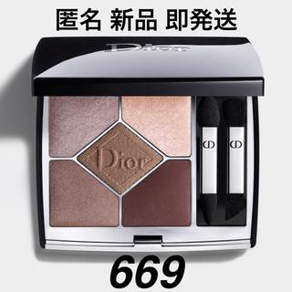 ディオール(Dior)のdior 669 ソフトカシミア ソフトカシミヤ サンククルール アイシャドウ(アイシャドウ)
