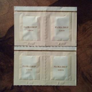 ALBION - フローラドリップ 化粧液 エクシア アルビオン サンプル