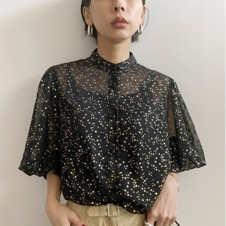 Ameri VINTAGE - TWINKLE PUFF SLEEVE SHIRTS アメリヴィンテージ