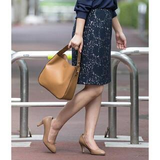 NATURAL BEAUTY BASIC - ナチュラルビューティーベーシック レースタイトスカート ひざ上丈
