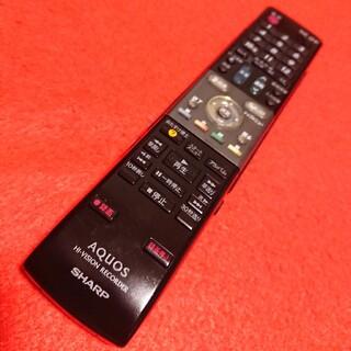 アクオス(AQUOS)の分解洗浄 シャープ  ハイビジョン&DVDレコーダー リモコン GA617PA(その他)