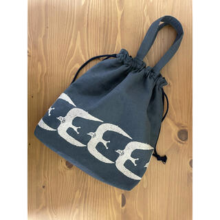 mina perhonen - ハンドメイドの巾着バッグ