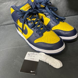 "NIKE - NIKE DUNK HIGH ""MICHIGAN"" 30cm"