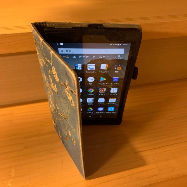ANDROID(アンドロイド)の Fire HD 8 タブレット  (第7世代) 16GB スマホ/家電/カメラのPC/タブレット(タブレット)の商品写真
