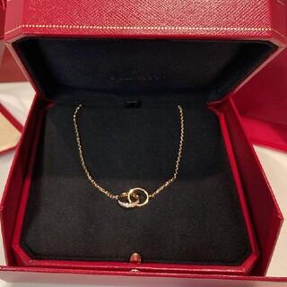 Cartier - 【新品同様】カルティエ ベビーラブネックレス ダイヤモンド ピンクゴールド