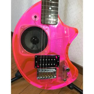 フェルナンデス(Fernandes)のフェルナンデス   ZO-3     アクリルピンク❣️  美品‼️(エレキギター)