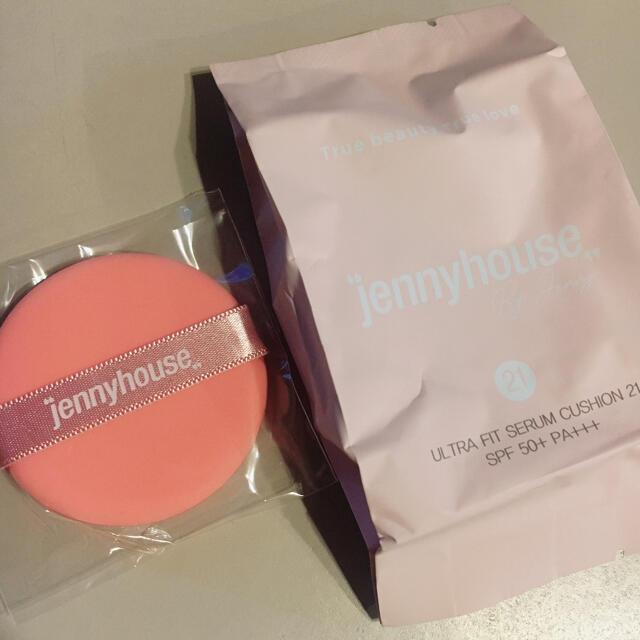 ジェニーハウス クッションファンデ コスメ/美容のベースメイク/化粧品(ファンデーション)の商品写真