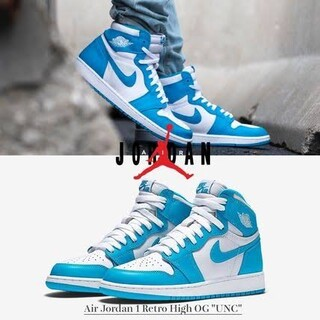 Nike Air Jordan 1 High OG UNC  dude9