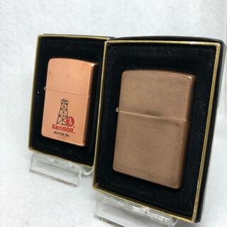 ジッポー(ZIPPO)のzippo solid copper(タバコグッズ)