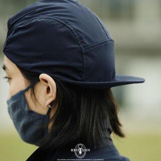 COMOLI - BROOXON +A.H BUG CAP ブラック フィナム 長谷川昭雄