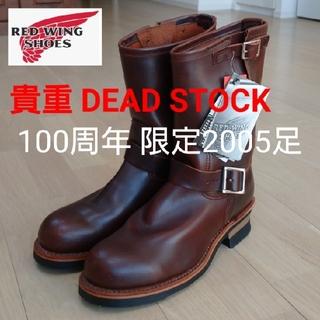 REDWING - 希少❗◆新品 100周年『RED WING』2005足限定made in USA