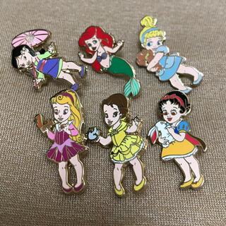 Disney - ディズニープリンセス 幼少期 チャイルド キッズ 子供 ピンズ