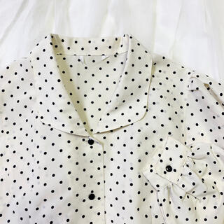 Lochie - vintage dot blouse 🐇