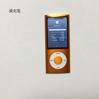 アップル(Apple)のiPod nano 5世代 16GB オレンジ(ポータブルプレーヤー)