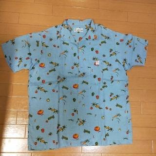 papas パパス アロハシャツ Lサイズ