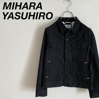 MIHARAYASUHIRO - 極美品 ミハラヤスヒロ Gジャン 黒 FT911202 梅雨 デニムジャケット