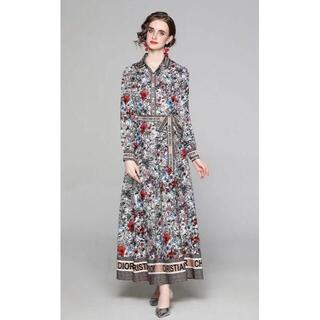 ディオール(Dior)の送料無料   【Di * O DIO *】 ドレス  (ミニワンピース)