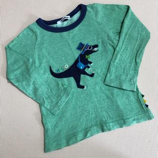 familiar - ファミリア 恐竜 ロンT  長袖シャツ 100サイズ