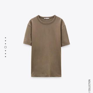 ZARA - 新品 ZARA コットンTシャツ