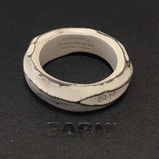 ガルニ(GARNI)のGARNI ガルニ クロッケリーホワイトコーティングシルバーリング21号(リング(指輪))
