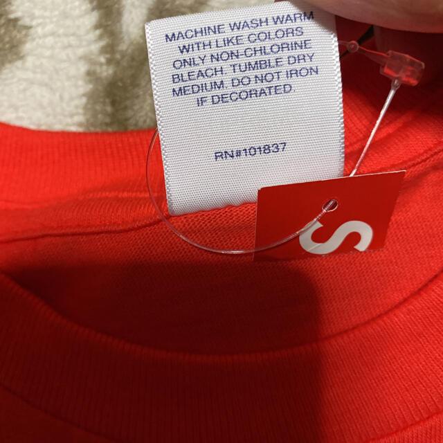 Supreme(シュプリーム)の17aw Supreme FUCK LOVE tee Tシャツ m オレンジ メンズのトップス(Tシャツ/カットソー(半袖/袖なし))の商品写真