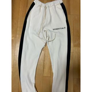 FEAR OF GOD - FOG Essentials Side Stripe Sweatpants S