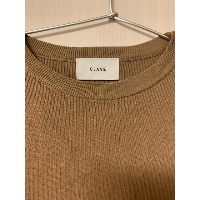Drawer(ドゥロワー)のご専用。。CLANEベージュニットサイズ1 レディースのトップス(ニット/セーター)の商品写真