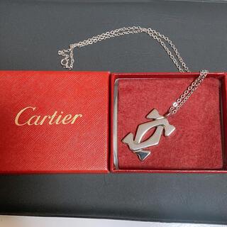 Cartier - カルティエ Cartier ロゴエンブレムネックレス  元箱付属 正規品