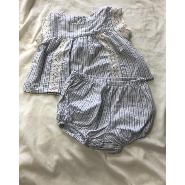 babyGAP(ベビーギャップ)のbabygap セットアップ まとめ売り 70 キッズ/ベビー/マタニティのベビー服(~85cm)(ロンパース)の商品写真