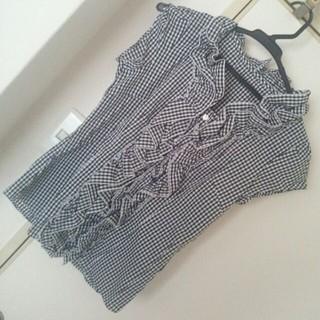 パウダーシュガー(POWDER SUGAR)のシャツ(シャツ/ブラウス(半袖/袖なし))