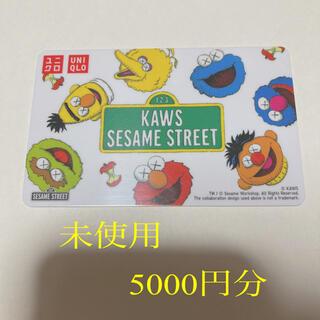 UNIQLO - ユニクロ ギフトカード 未使用5000円分