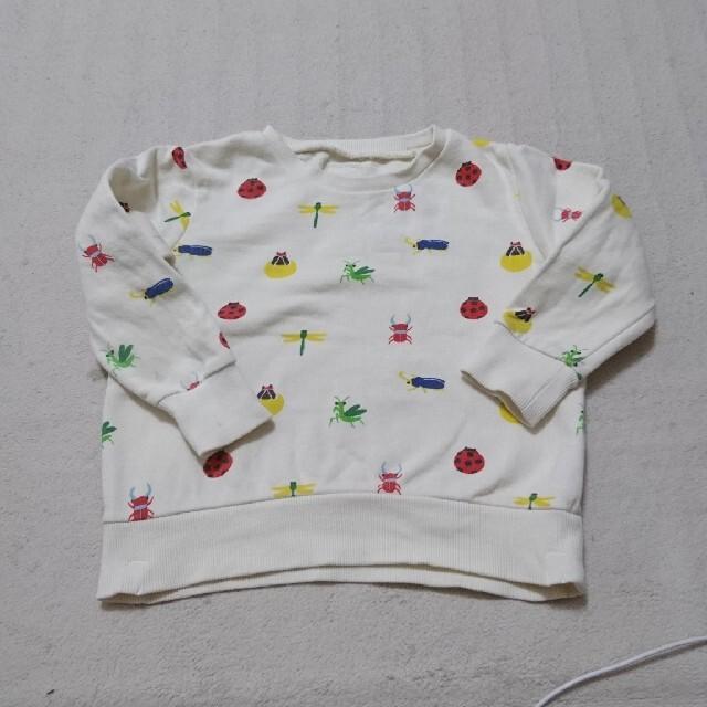 kladskap(クレードスコープ)のインセクトコレクション トレーナー キッズ/ベビー/マタニティのキッズ服男の子用(90cm~)(Tシャツ/カットソー)の商品写真