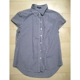 SHIPS - SHIPS 半袖チェックシャツ