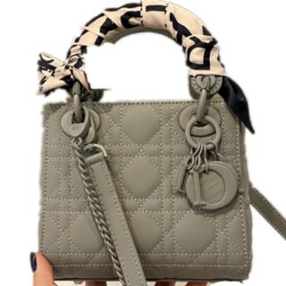 Christian Dior - Christian dior グレー ショルダーバッグ ショッピングバッグ#20