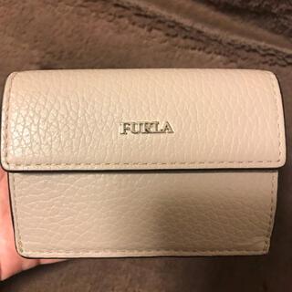 Furla - FURLA フルラ 三つ折り財布 ベージュ×ピンク