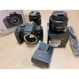 Canon - Canon デジタル一眼レフカメラ EOS Kiss X8i レンズキット