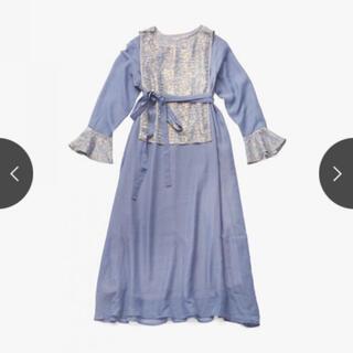 Ameri VINTAGE - 数回着用 MARTE Shiny Vest Layered Onepiece