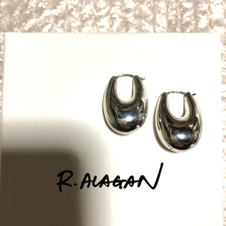 BEAUTY&YOUTH UNITED ARROWS - R.ALAGAN ララガン PUFFY HOOP EARRING ピアス 新品