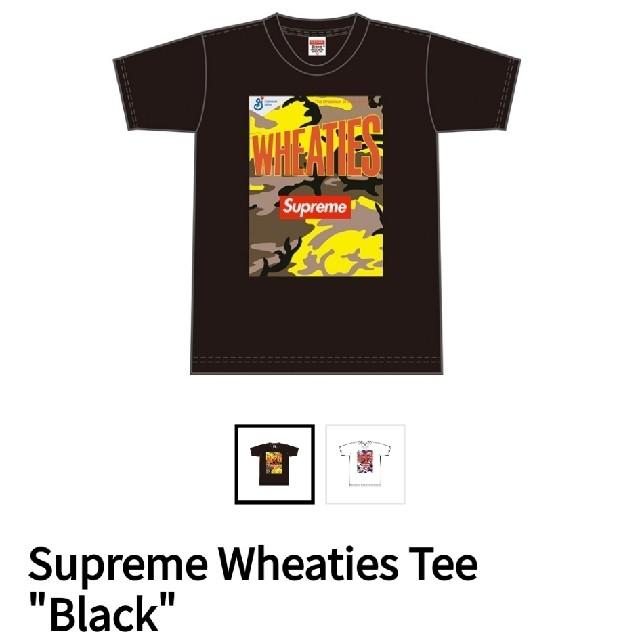 """Supreme(シュプリーム)のSupreme Wheaties Tee """"Black"""" メンズのトップス(Tシャツ/カットソー(半袖/袖なし))の商品写真"""