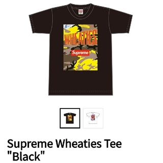 "Supreme - Supreme Wheaties Tee ""Black"""
