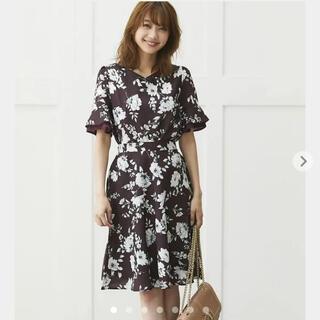 tocco - 【新品】トッコ 袖口フレアシック 花柄 フラワープリント セットアップ