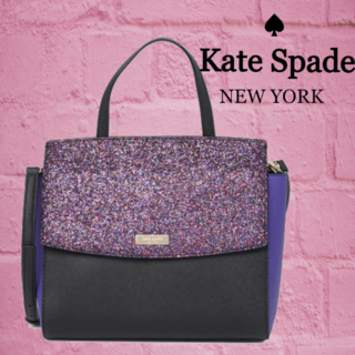 kate spade new york - SALE☆【kate spade】 ローレルウェイキラキラサッチェルバック