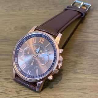腕時計 ブラウン レディース