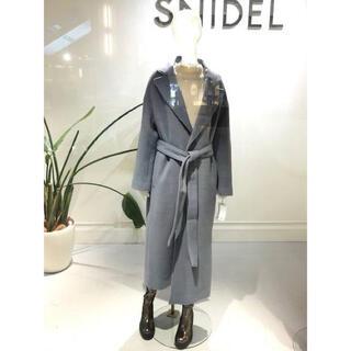 スナイデル(snidel)のSNIDEL ♡ ウエストマークウールコート(ロングコート)