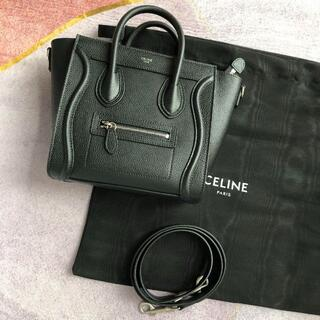 celine - CELINE ラゲージ ナノ / ドラムドカーフスキン